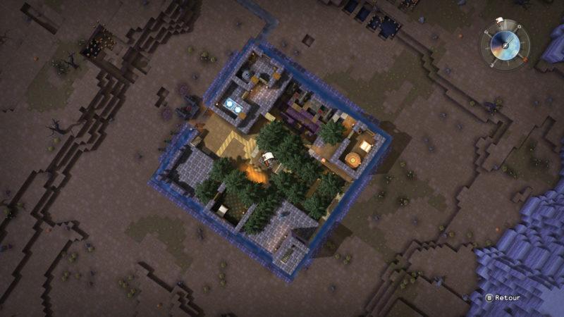 Dragon Quest Builders - Top View