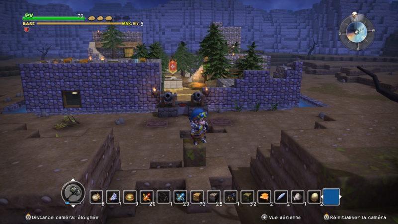 Dragon Quest Builders - Village médiéval