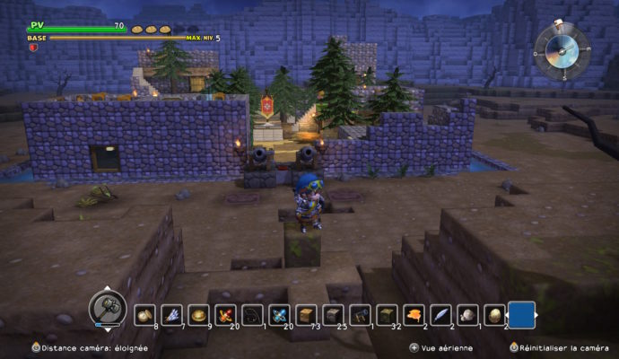 Dragon Quest Builders - Village médiéval