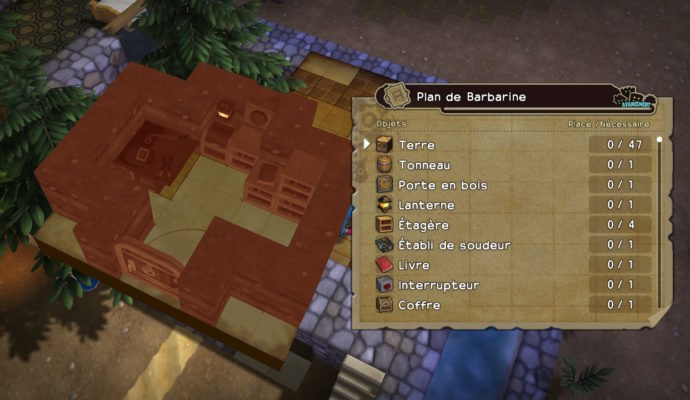 Dragon Quest Builders - j'ai un plan