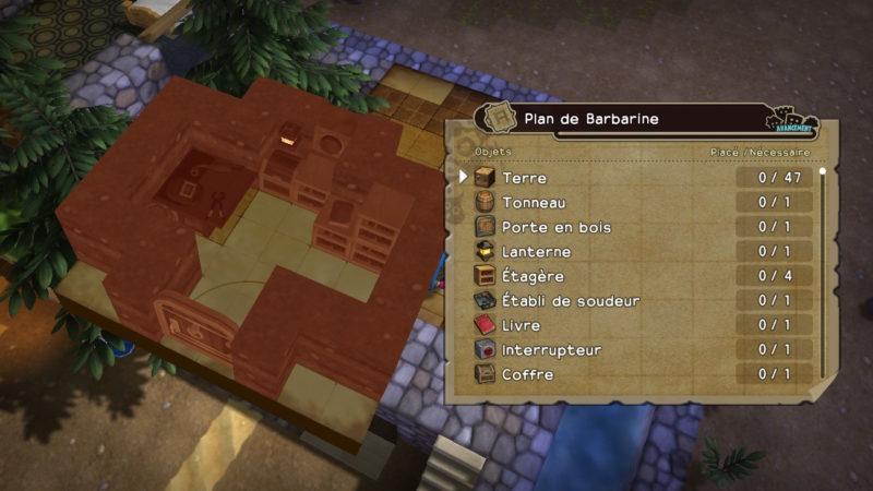 Dragon Quest Builders - j'ai un plan