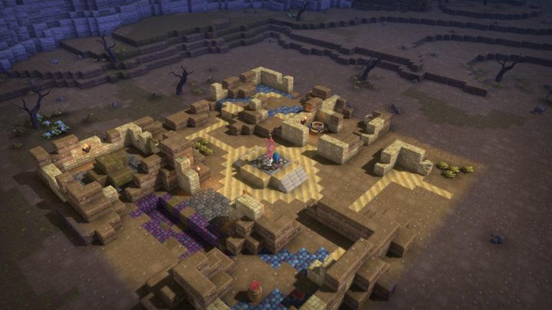 Dragon Quest Builders - un village à rénover