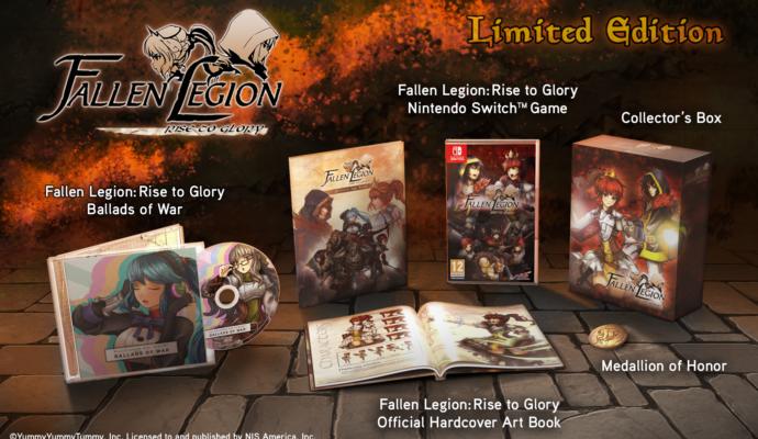 NIS America -Fallen Legion Rise to Glory collector