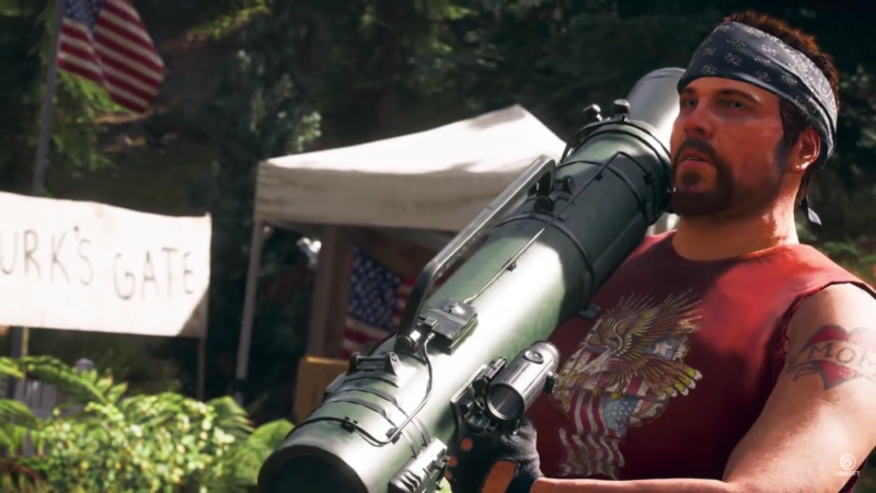 Far Cry 5 Hurk le lance-missile