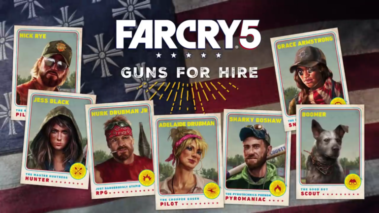 Far Cry 5 mercenaire