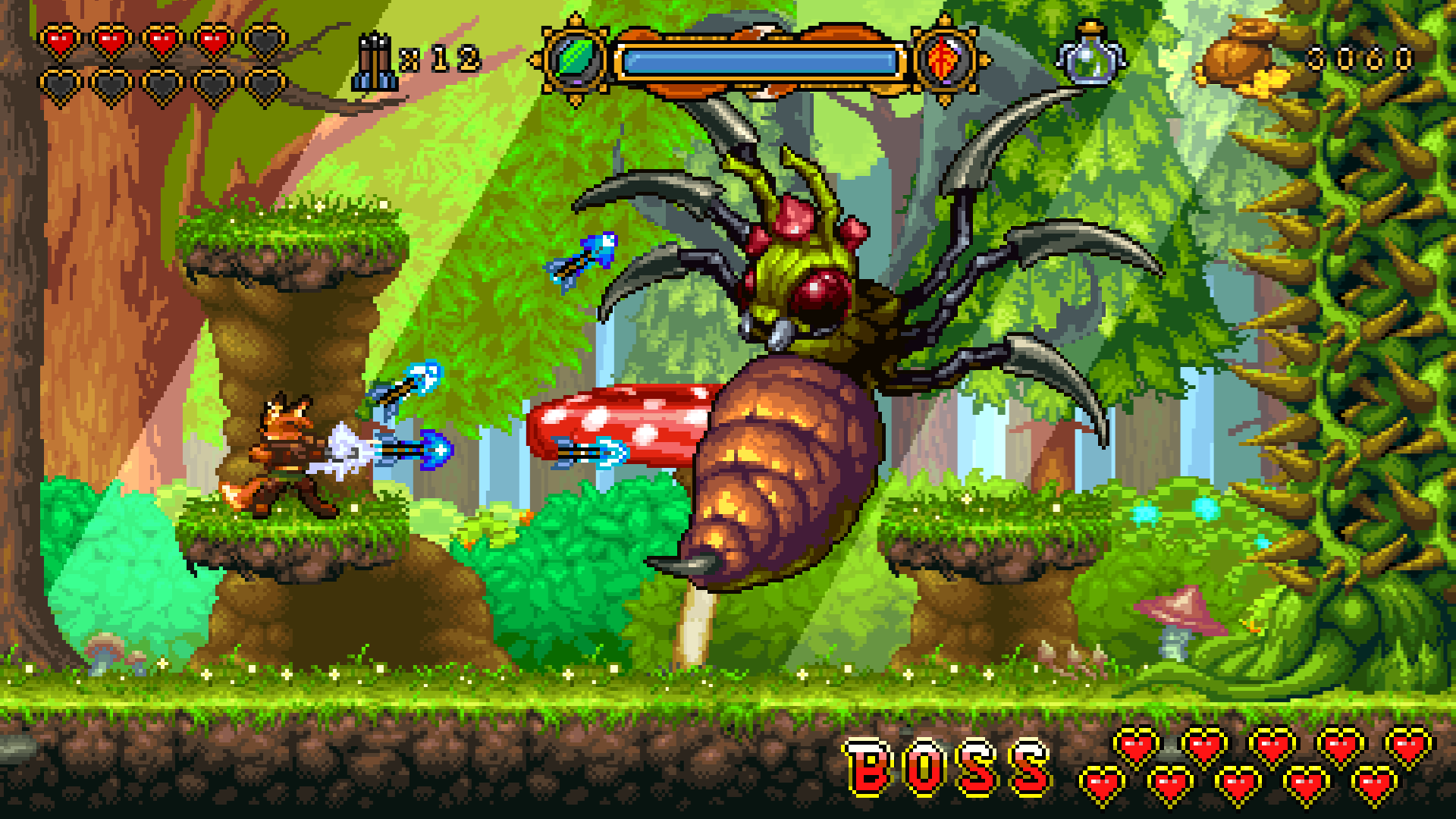 Fox n Forests boss