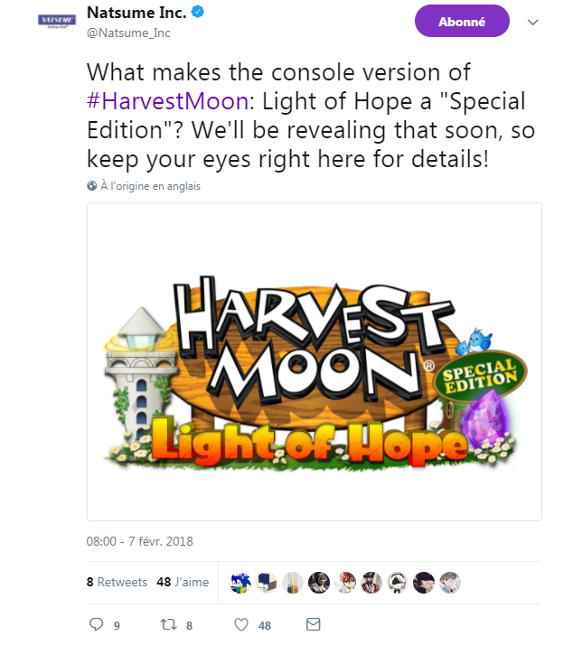 Harvest Moon Light of Hope - Special Edition