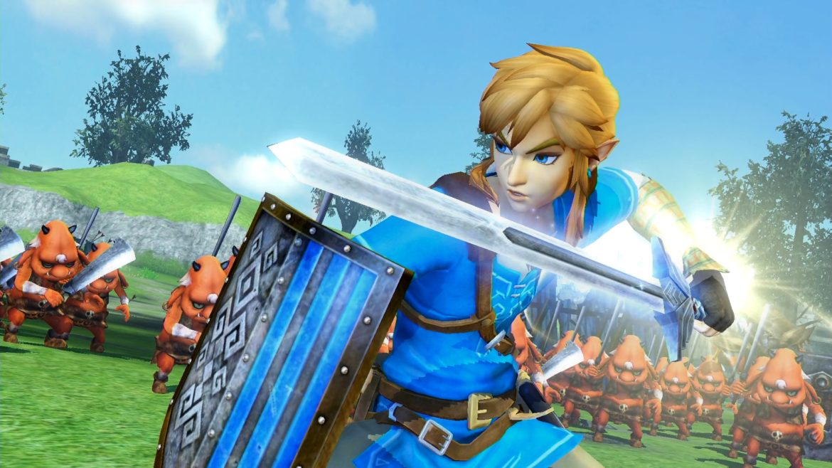 Hyrule Warriors: Definitive Edition Link et sa tenue de champion