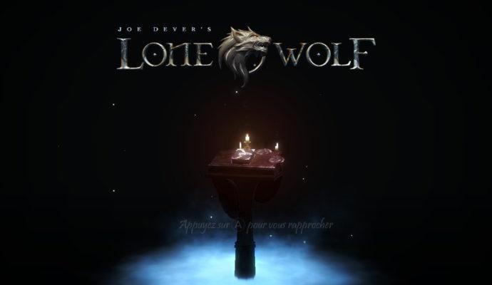 Joe Dever's Lone Wolf - Ecran titre