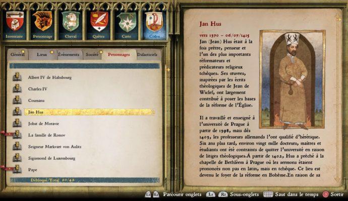 Kingdom Come: Deliverance Codex