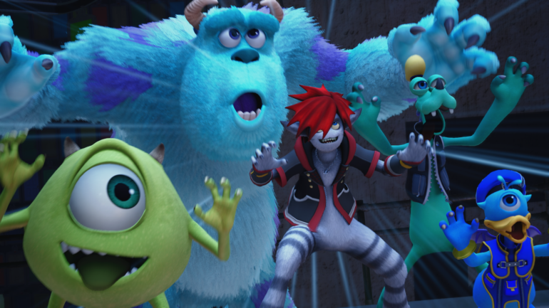 Kingdom Hearts 3 : l'univers de Monstre & Cie