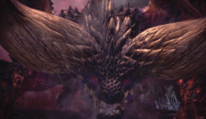Monster Hunter: World - Le Nergigante