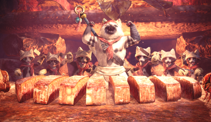 Monster Hunter: World - Les chats cuistos