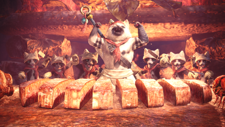 Capcom annonce un pack d'objets pour Monster Hunter World