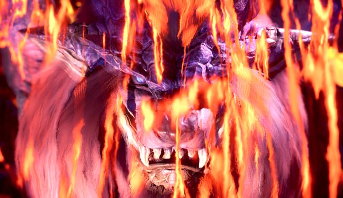Monster Hunter: World - Le Teostra sort des flammes