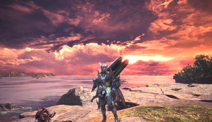 Monster Hunter: World - Coucher de soleil