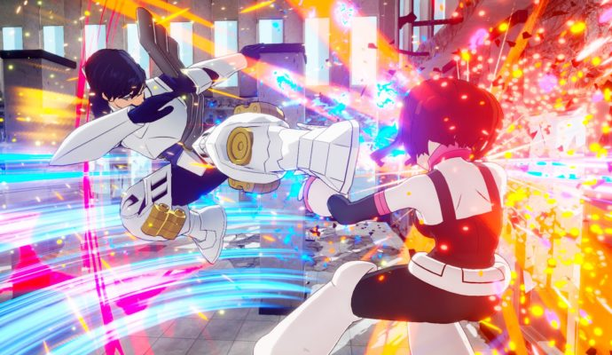 My Hero Academia One's Justice Iida vs Ochaco