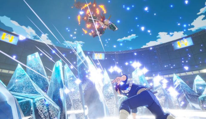 My Hero Academia: One Justice Todoroki vs Bakugo
