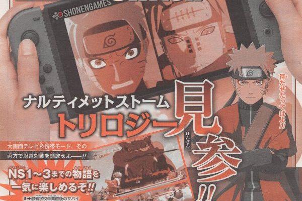 Naruto Ultimate Ninja Storm Trilogy - l'annonce