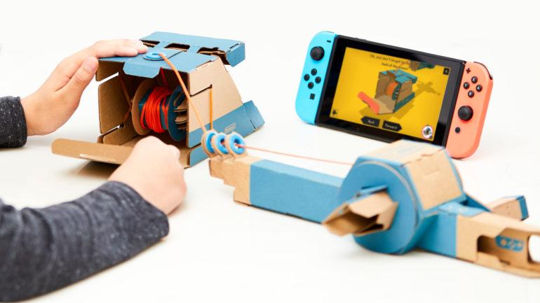 Nintendo Labo kit véhicule