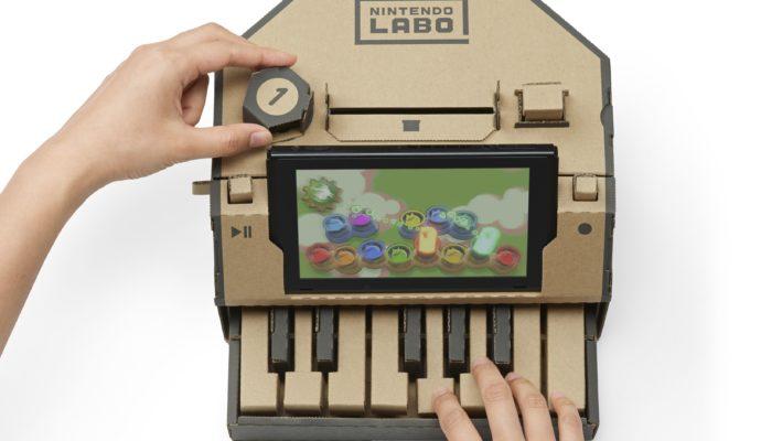 Nintendo Labo - Piano