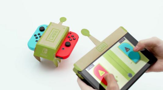 Nintendo Labo - Voiture téléguidée