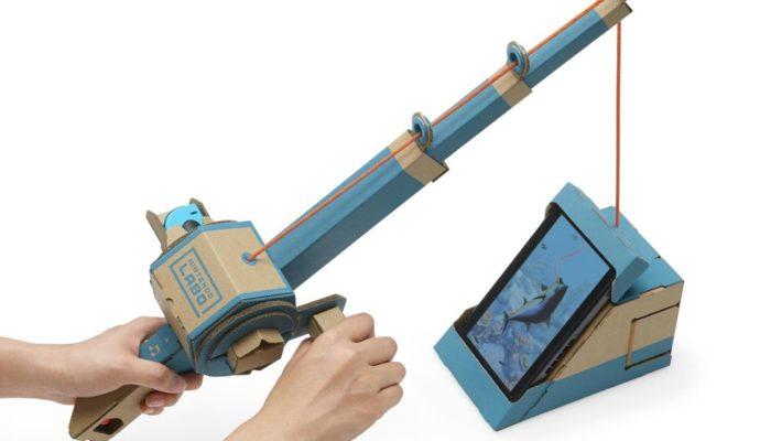 Nintendo Labo - pêche
