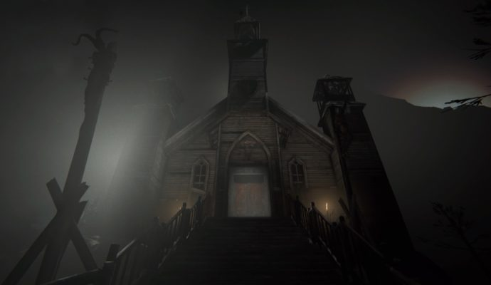 Outlast 2 église