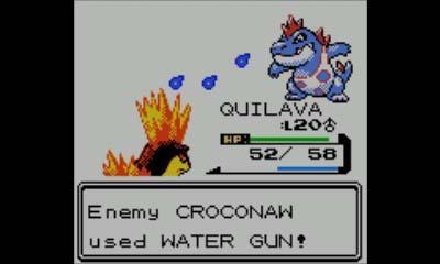 Pokemon Version Cristal - Crocodile