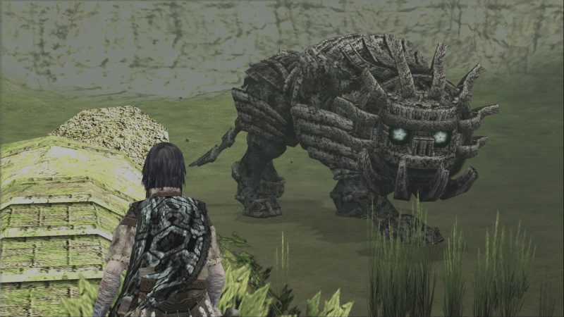 Shadow of the Colossus lion