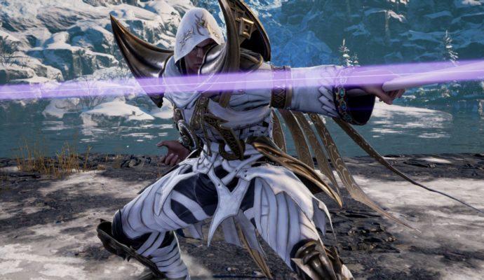 Soul Calibur VI - Zasalamel slash