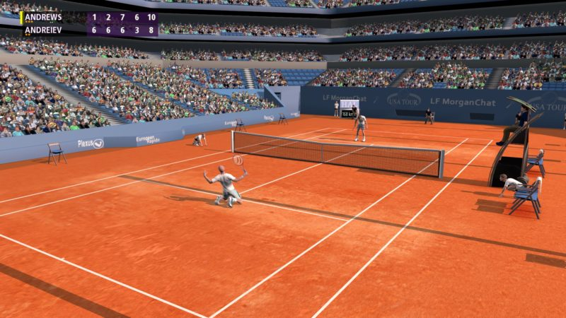 Test Full Ace - Victoire Agassi