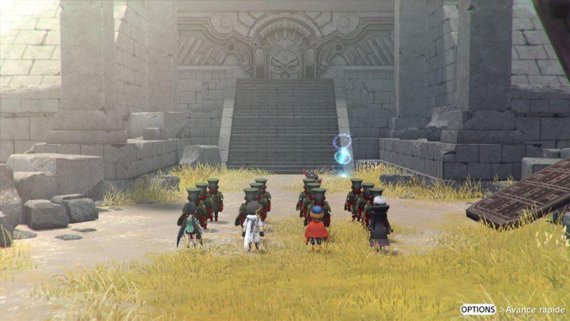 Test Lost Sphear - armée impériale