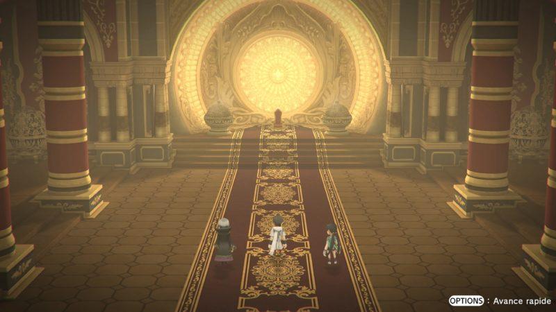 Test Lost Sphear - Salle de l'empereur