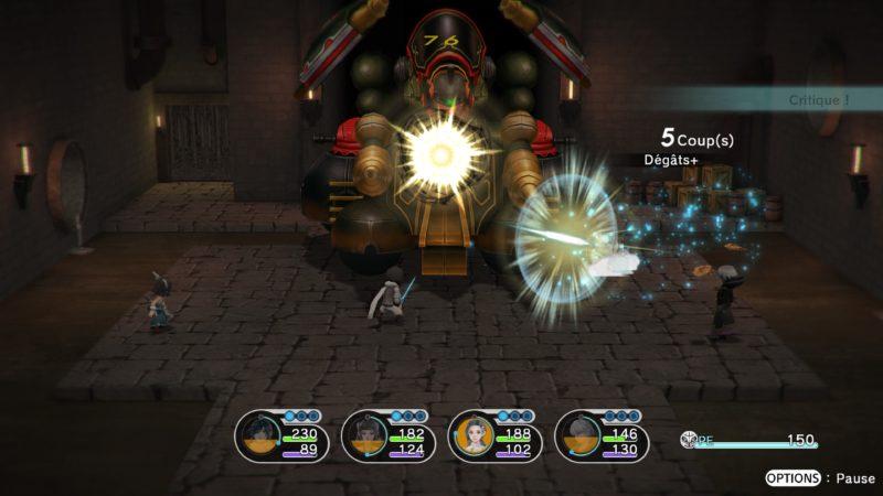 Test Lost Sphear - Combat de boss