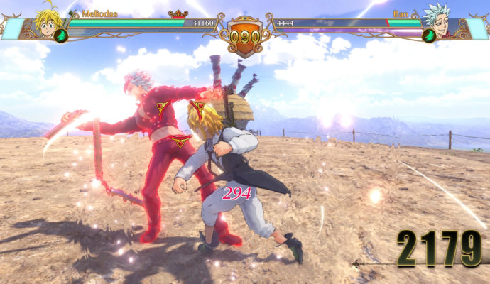 The Seven Deadly Sins: Knights of Britannia - Meliodas contre Ban