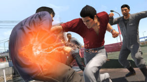bilan 2018 Yakuza 6: The Song of Life combat