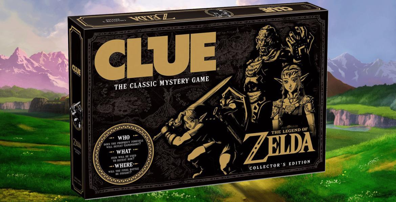 Cluedo Zelda - jeux de société