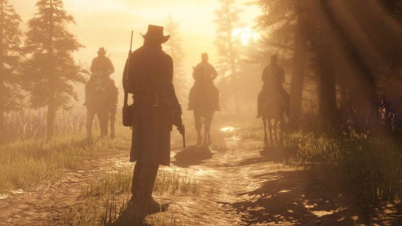 Red Dead Redemption 2 duel