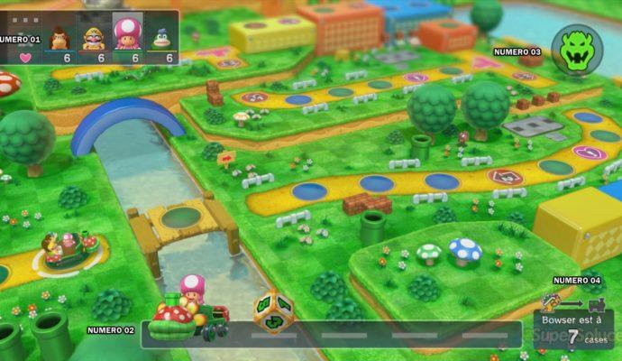 Plateau Mario Party - jeux de société
