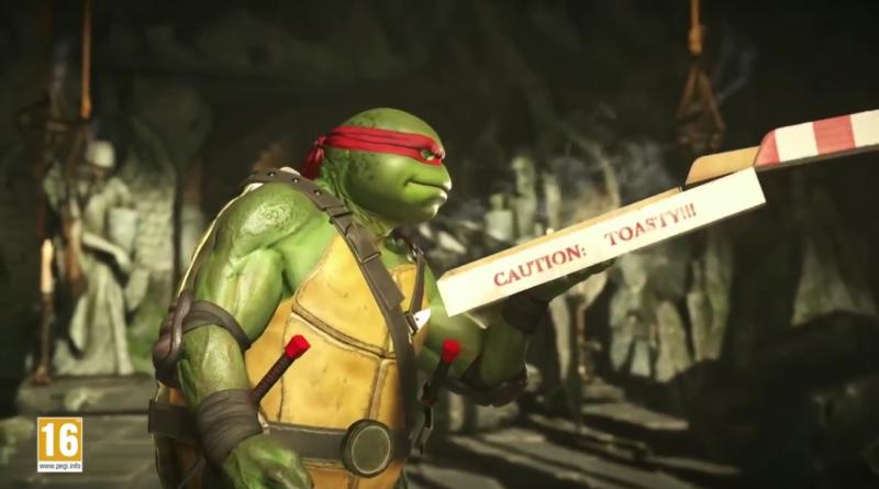 Injustice 2 Raphael pizza