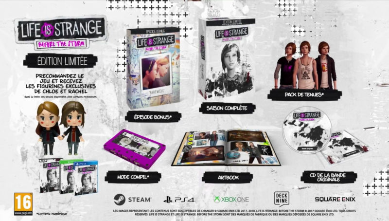Life is Strange: Before the Storm édition limitée