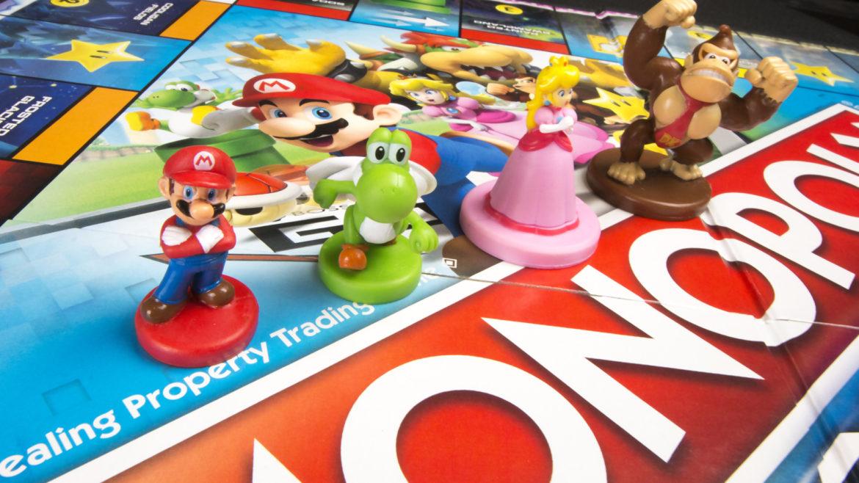 Jeux de société - Nintendo et Monopoly