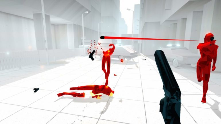PlayStation VR SuperHot