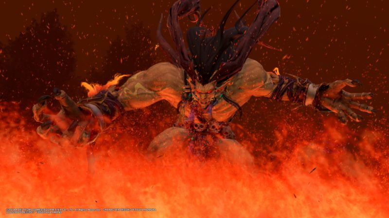 test Dissidia Final Fantasy NT - ifrit