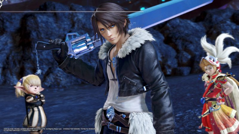 test Dissidia Final Fantasy NT Squall