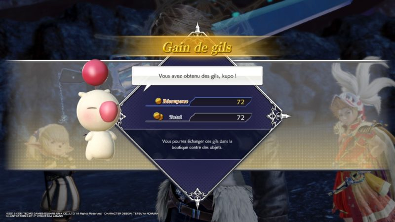 test Dissidia Final Fantasy NT