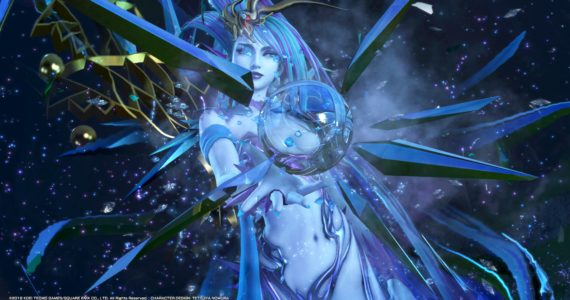 test Dissidia Final Fantasy NT - shiva