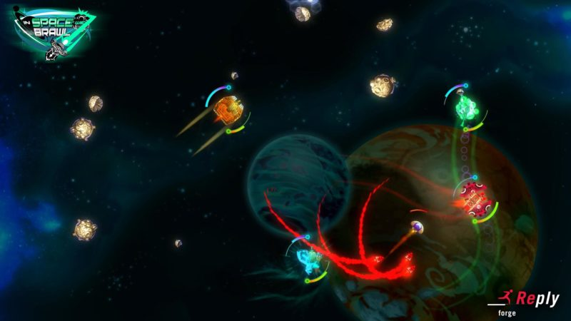 PlayStation Plus In Space We Brawl