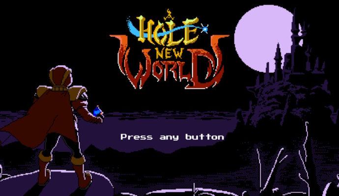 A Hole New World - Ecran titre